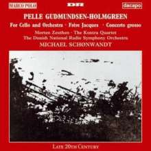 "Pelle Gudmundsen-Holmgreen (geb. 1932): Cellokonzert ""For Cello & Orchestra"", CD"
