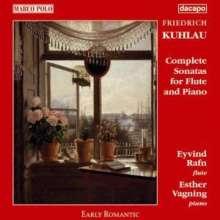 Friedrich Kuhlau (1786-1832): Sonaten für Flöte & Klavier, 2 CDs
