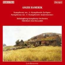 Asger Hamerik (1843-1923): Symphonien Nr.3 & 4, CD