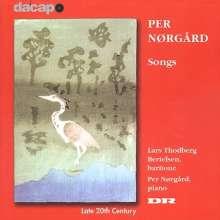Per Nörgard (geb. 1932): Lieder, CD