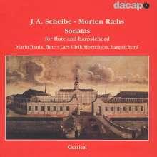Johann Adolph Scheibe (1708-1776): Flötensonaten Nr.1-3, CD