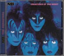 Kiss: Creatures Of The Night, CD