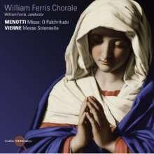 William Ferris Choral, CD
