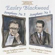 Easley Blackwood (geb. 1932): Symphonien Nr.1 & 5, CD