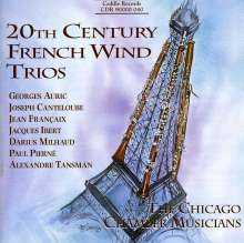 Chicago Chamber Musicians - 20th Century French Wind Trios, CD