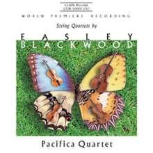 Easley Blackwood (geb. 1932): Streichquartette Nr.1-3, CD