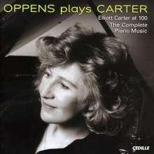 Elliott Carter (1908-2012): Sämtliche Klavierwerke, CD
