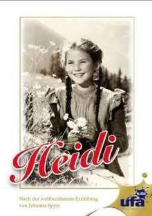 Heidi (1952), DVD