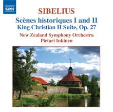 Jean Sibelius (1865-1957): Scenes historiques opp.25 & 66, CD