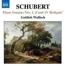 Franz Schubert (1797-1828): Klaviersonaten D.157,571,840, CD