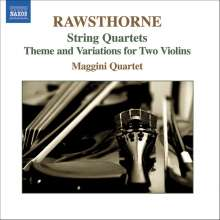Alan Rawsthorne (1905-1971): Streichquartette Nr.1-3, CD