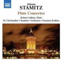Jan Vaclav bzw. Johann Wenzel Stamitz (1717-1757): Flötenkonzerte in C,D,D,G, CD