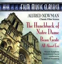 "Alfred Newman (1900-1970): Filmmusik ""The Hunchback of Notre Dame"", CD"