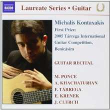Michalis Kontaxakis - Guitar Recital, CD