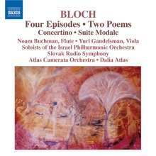 Ernest Bloch (1880-1959): Concertino, CD