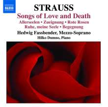 "Richard Strauss (1864-1949): Lieder ""Songs of Love and Death"", CD"