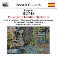 Joaquim Homs (1906-2003): Musik für Kammerorchester, CD