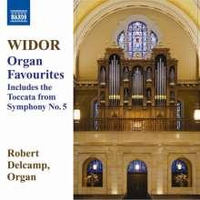 Charles-Marie Widor (1844-1937): Orgelwerke, CD