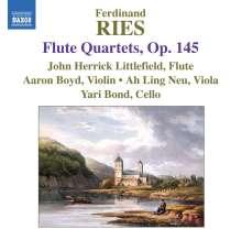 Ferdinand Ries (1784-1838): Flötenquartette op.145 Nr.1-3, CD