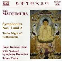Teizo Matsumura (geb. 1929): Symphonien Nr.1 & 2, CD