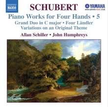 Franz Schubert (1797-1828): Klavierwerke zu vier Händen, CD