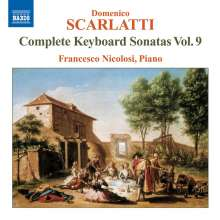 Domenico Scarlatti (1685-1757): Klaviersonaten Vol.9, CD
