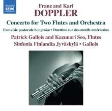 Albert Franz Doppler (1821-1883): Konzert für 2 Flöten & Orchester d-moll, CD