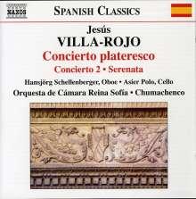 "Jesus Villa-Rojo (geb. 1940): Konzert für Oboe & Orchester ""Concierto plateresco"", CD"