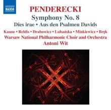 """Krzysztof Penderecki (geb. 1933): Symphonie Nr.8 """"Lieder der Vergänglichkeit"""", CD"""