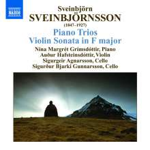 Sveinbjörn Sveinbjörnsson (1847-1927): Klaviertrios in e-moll & a-moll, CD