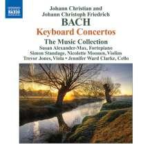 Johann Christian Bach (1735-1782): Cembalokonzerte D-Dur & B-Dur, CD