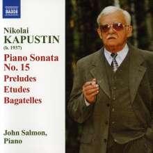 Nikolai Kapustin (geb. 1937): Klaviersonate Nr.15 (op.127), CD
