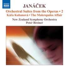 Leos Janacek (1854-1928): Orchestersuiten aus Opern Vol.2, CD