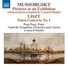 Modest Mussorgsky (1839-1881): Bilder einer Ausstellung (Orchesterfassung von Leonard Slatkin), CD