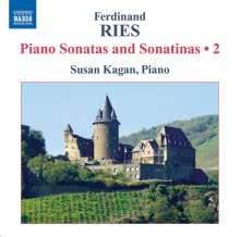 Ferdinand Ries (1784-1838): Klaviersonaten & Sonatinen Vol.2, CD