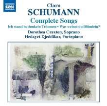 Clara Wieck-Schumann (1819-1896): Sämtliche Lieder, CD