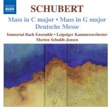 Franz Schubert (1797-1828): Messen D.167,452,872, CD