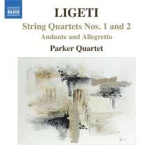 György Ligeti (1923-2006): Streichquartette Nr.1 & 2, CD