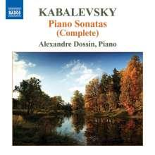 Dimitri Kabalewsky (1904-1987): Klaviersonaten Nr.1-3, CD