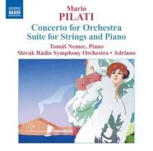 Mario Pilati (1903-1938): Konzert für Orchester in C, CD