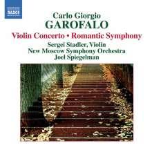 """Carlio Giorgio Garofalo (1886-1962): Symphonie """"Romantische"""", CD"""