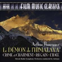 Arthur Honegger (1892-1955): Filmmusik, CD