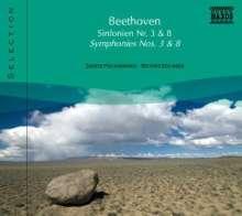 Naxos Selection: Beethoven - Symphonien Nr.3 & 8, CD