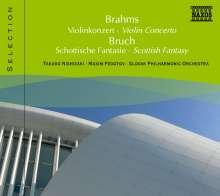 Naxos Selection: Brahms - Violinkonzert op.77, CD