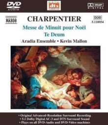 Marc-Antoine Charpentier (1634-1704): Messe de minuit sur des airs de Noel, DVD-Audio