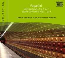 Naxos Selection: Paganini - Violinkonzerte Nr.1 & 4, CD