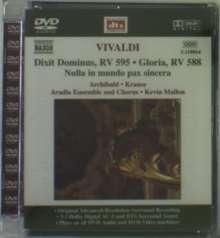 Antonio Vivaldi (1678-1741): Dixit Dominus di Praga RV 595, DVD-Audio