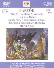 Bela Bartok (1881-1945): Der wunderbare Mandarin, DVD-Audio