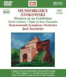 Modest Mussorgsky (1839-1881): Bilder einer Ausstellung (Orchester Fassung), DVD-Audio