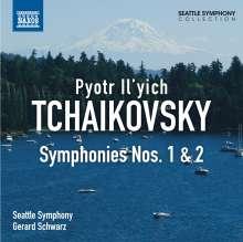 Peter Iljitsch Tschaikowsky (1840-1893): Symphonien Nr.1 & 2, CD